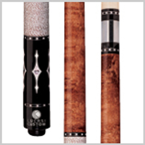 Wood: Birds-eye Maple, Ebony  Joint: Stainless steel Uni-loc® Tip: Premium Everest   Weight: Standardized weighting system 18oz-21oz available  Butt cap: Black Implex