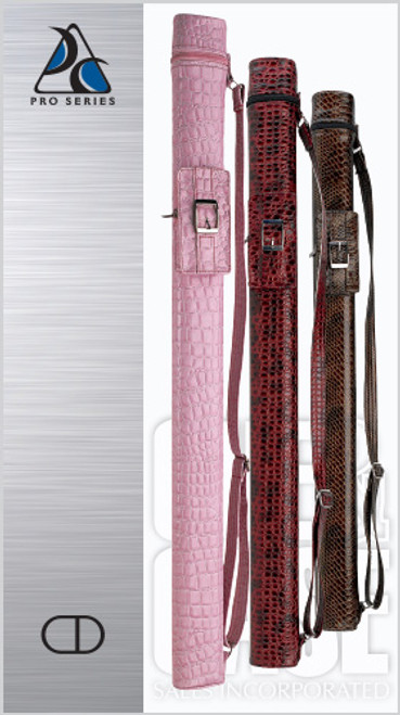 Embossed Leatherette Flirt Case with Accessory Pocket - PF 1B/1S