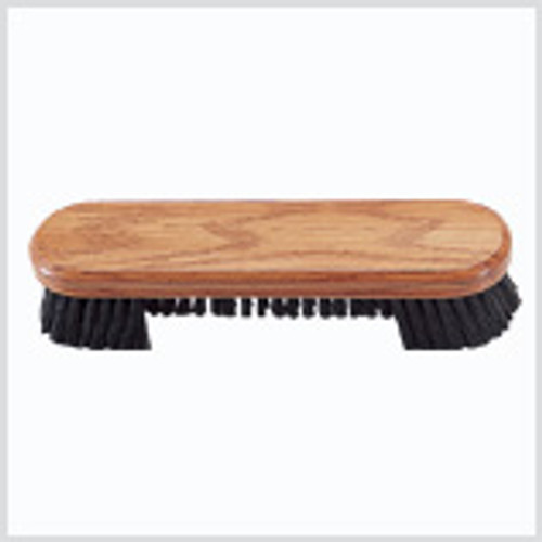 """9"""" Wooden Brush with Nylon Bristles in Clam Pack -  CLM-5"""