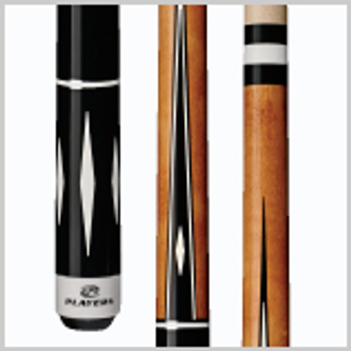 Wood: 100% North American Grade A Hard Rock Maple   Joint: Black & White Implex  Tip: Le Pro tip   Weight: Standardized weighting system 18oz-21oz available   Butt cap: White Implex