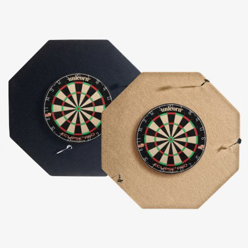 "DBOTN HJ Scott® 36"" Dart Backboard - Octagon Tan"
