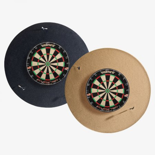 "DBR HJ Scott® 36"" Dart Backboard - Round Black"
