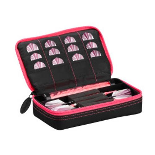 Casemaster Plazma Dart Case Black with Pink Zipper