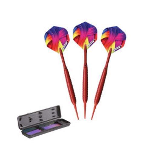 Elkadart Neon Red Soft Tip Darts 18 Grams