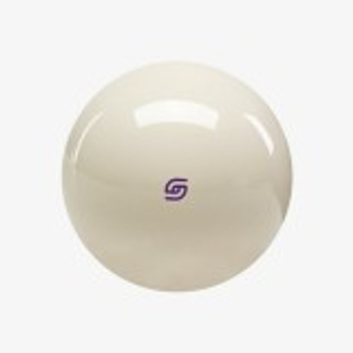 MCBPL Aramith Magnetic Cue Ball with Purple Logo