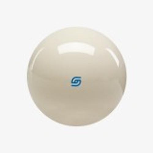 "ARCB Aramith 2 1/4"" Cue ball with Blue Logo"