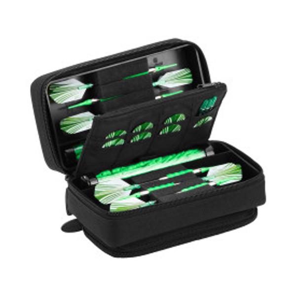 Casemaster Plazma Pro Dart Case with Black Zipper and Phone Pocket