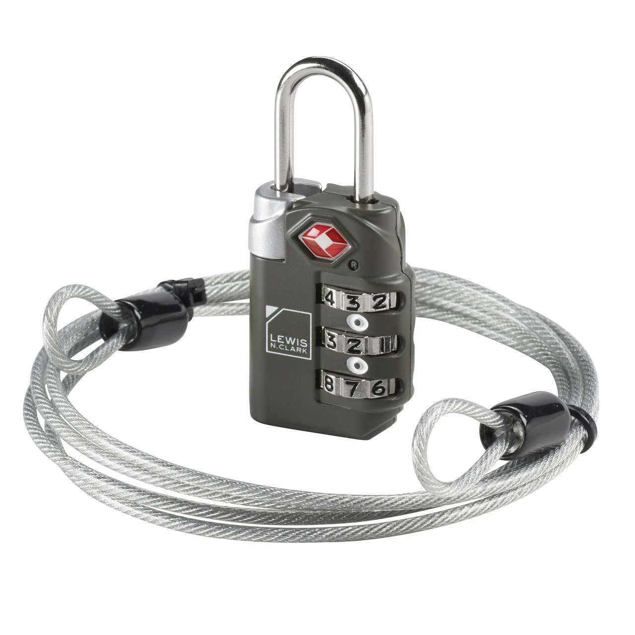 f6a61368b436 Travel Sentry® Combination Lock with Cable