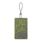 Travel Green Luggage Tags, Branches