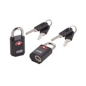 Travel Sentry Mini Padlocks Set, 2-Pack