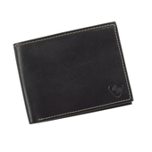 Datablock Leather Bi-fold Wallet