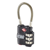 Travel Sentry Indicator Heavy-Duty Cable Lock