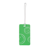 Neon Luggage Tag