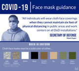 Soldiers Face Mask Guidance