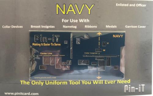 NAVY Pin-iT Card