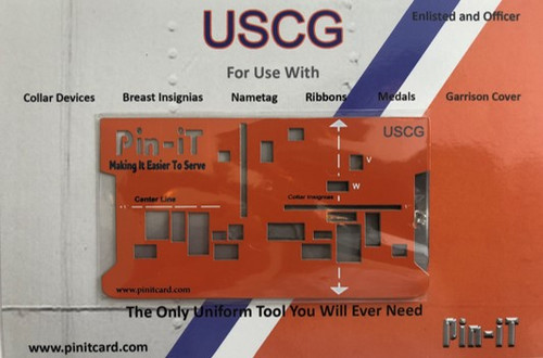 USCG Pin-iT Card