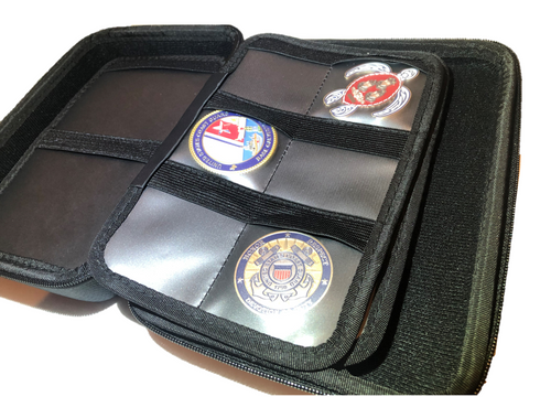 Challenge Coin Case/ Coin Collector case