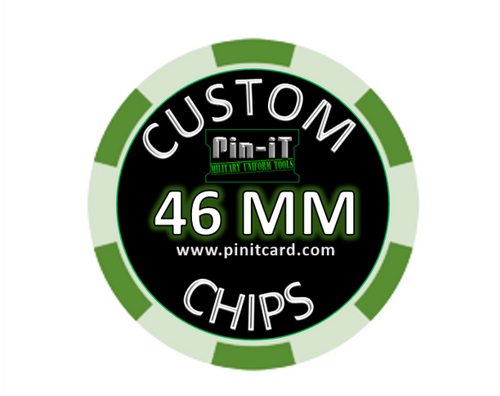 Custom Ceramic Poker Chips by Pin-iT