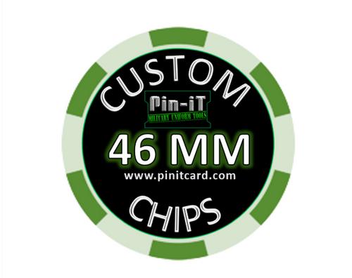 Custom Ceramic Poker Chips by Pin-iT