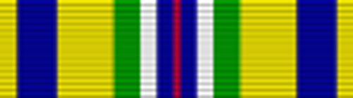 Coast Guard Recruiting Service Ribbon
