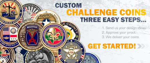 Custom Challenge Coin Quote