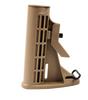 Adjustable Mil Spec Carbine Buttstock Kit FDE Tan