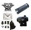 MCK Glass Breaker, MCK MRD Red Dot, MCK FL , MCK THR, MCK conversion kit accessories.