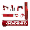 AR15 Upgrade Parts Kit Anodized Color