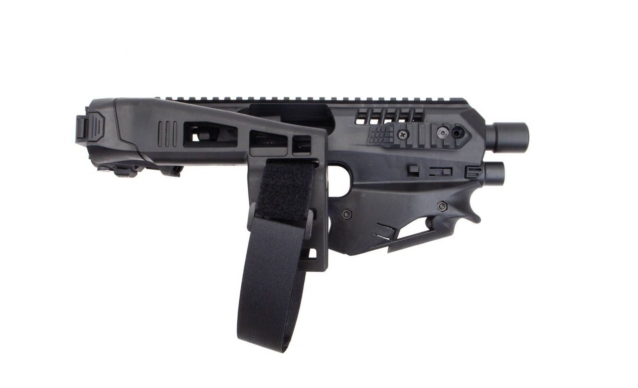 Side view of the MCK Micro Conversion Kit in black.