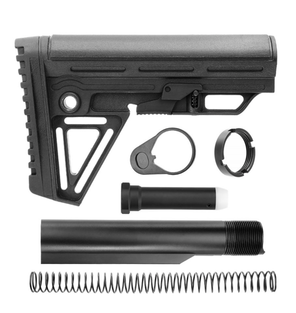Trinity Force Alpha Stock Mil-Spec Kit - Black