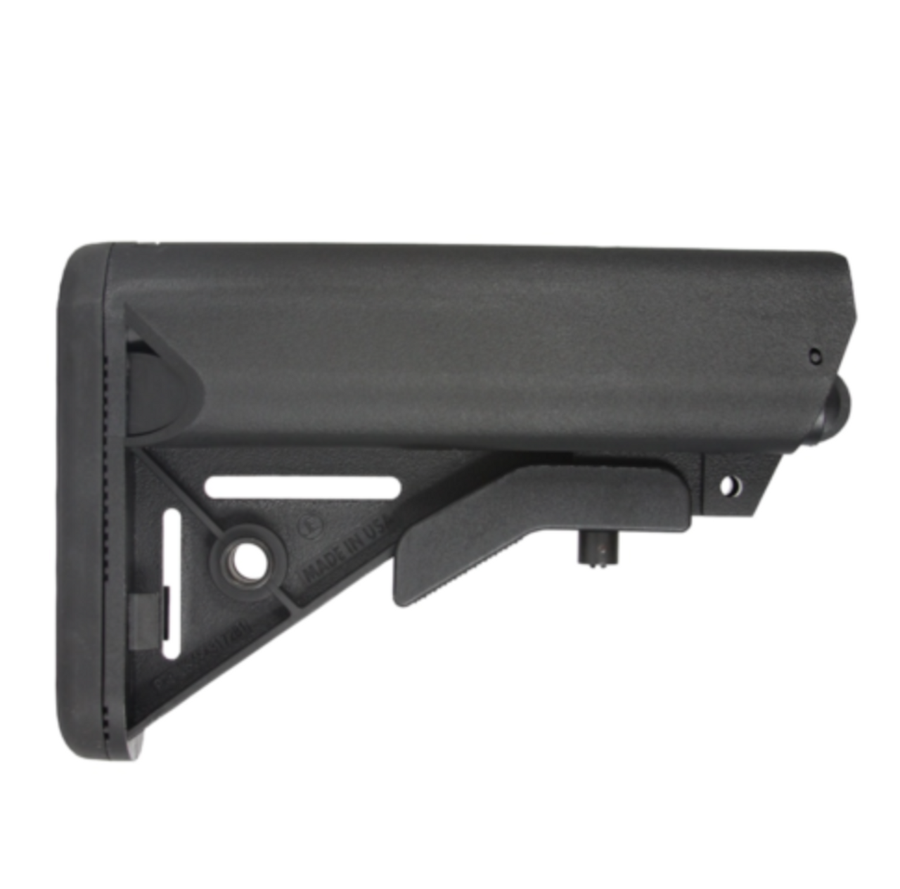 SOPMOD Mil-Spec Buttstock USA Made Black