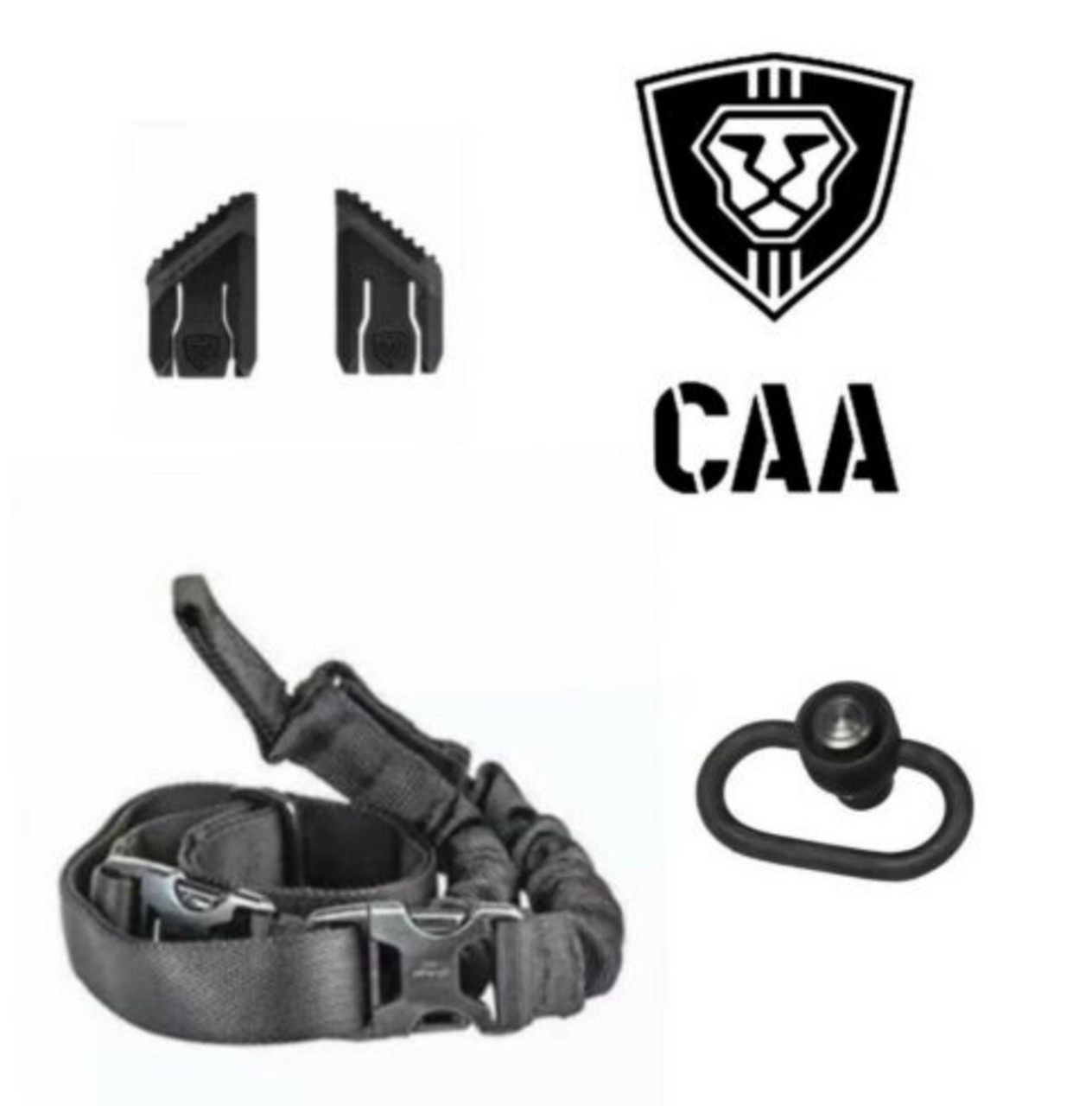 CAA OPS Combo One Point Sling Thumb Stops QD Swivel