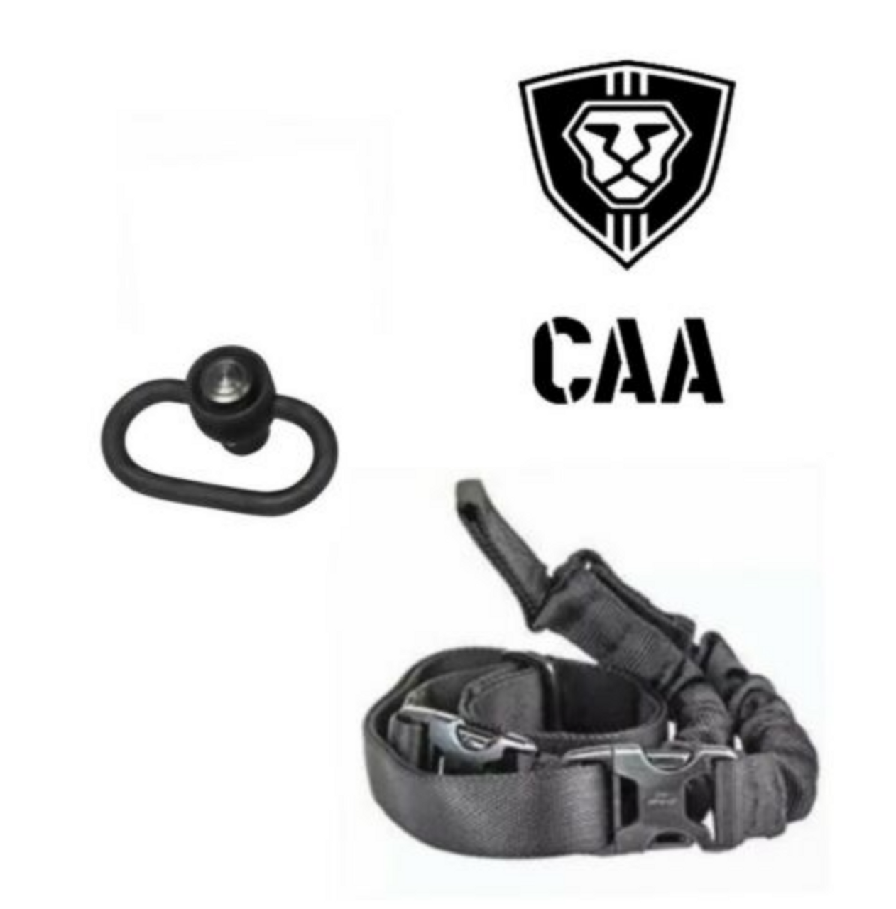 CAA MCK OPS One Point Sling Push Button Swivel Combo for Micro Roni MCK