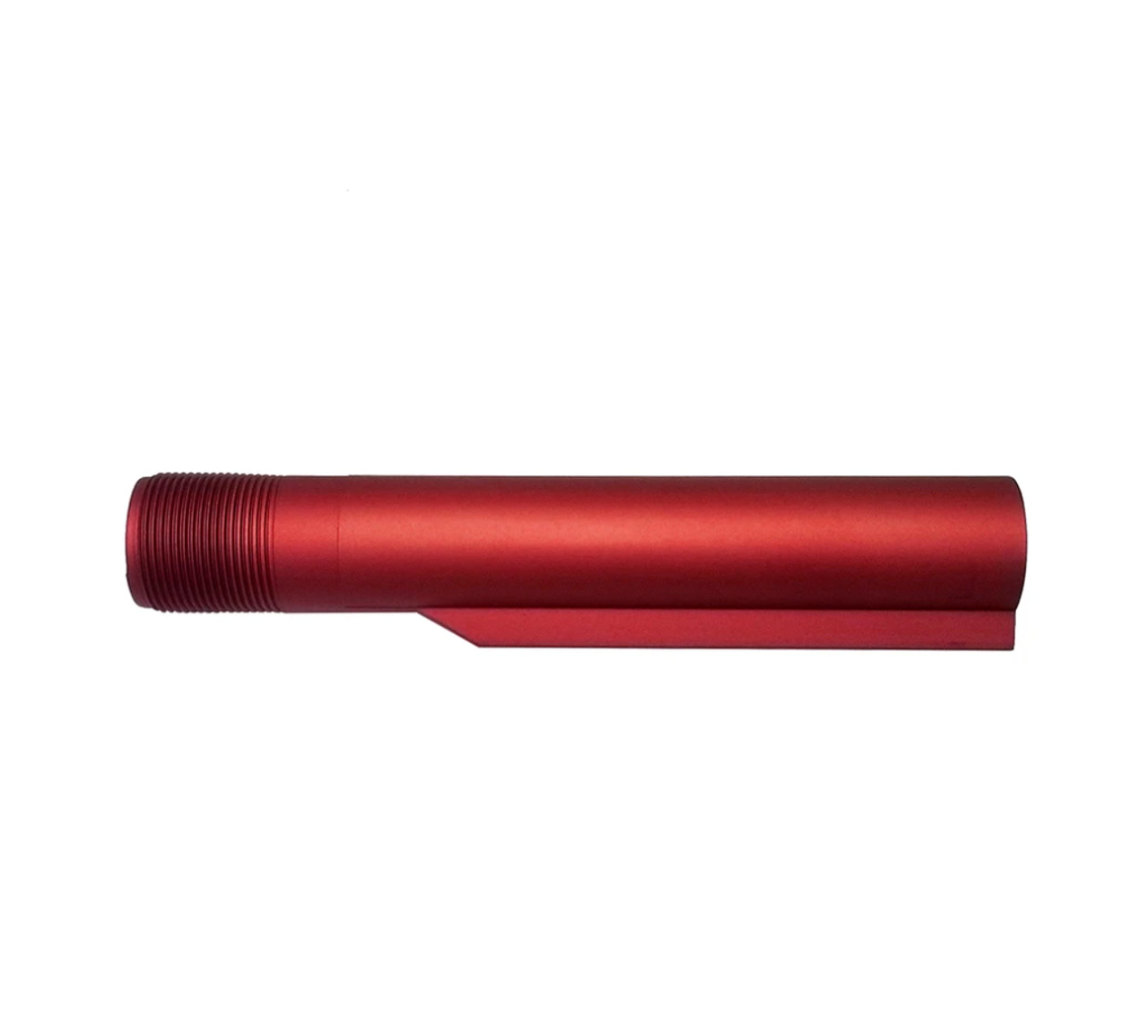 Red Anodized Mil-Spec 6-Position Buffer Tube