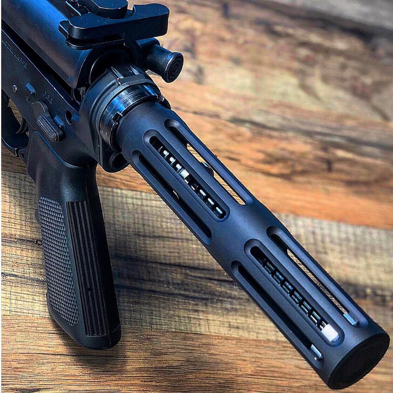 MCS Skeleton Machined AR15 Pistol Length Buffer Tube
