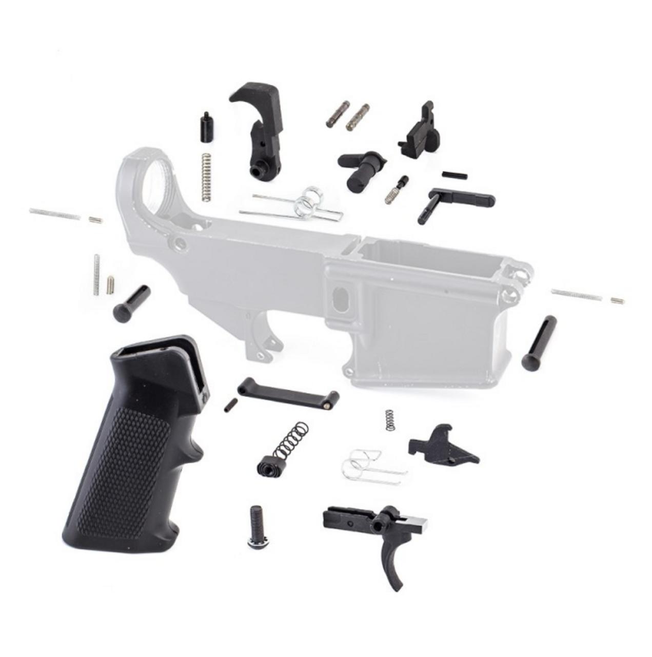 MCS Lower Parts Kit w/ Standard Grip & Trigger Guard LPK
