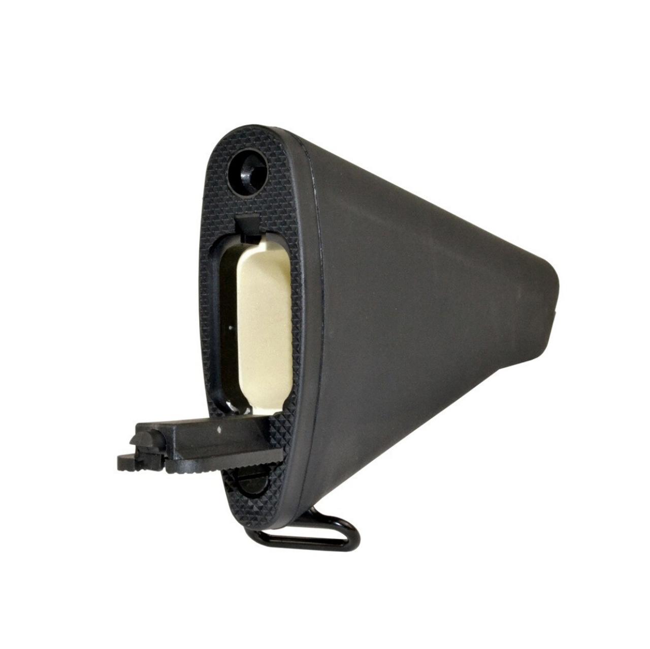 A2 Style AR-15 Fixed Stock Black
