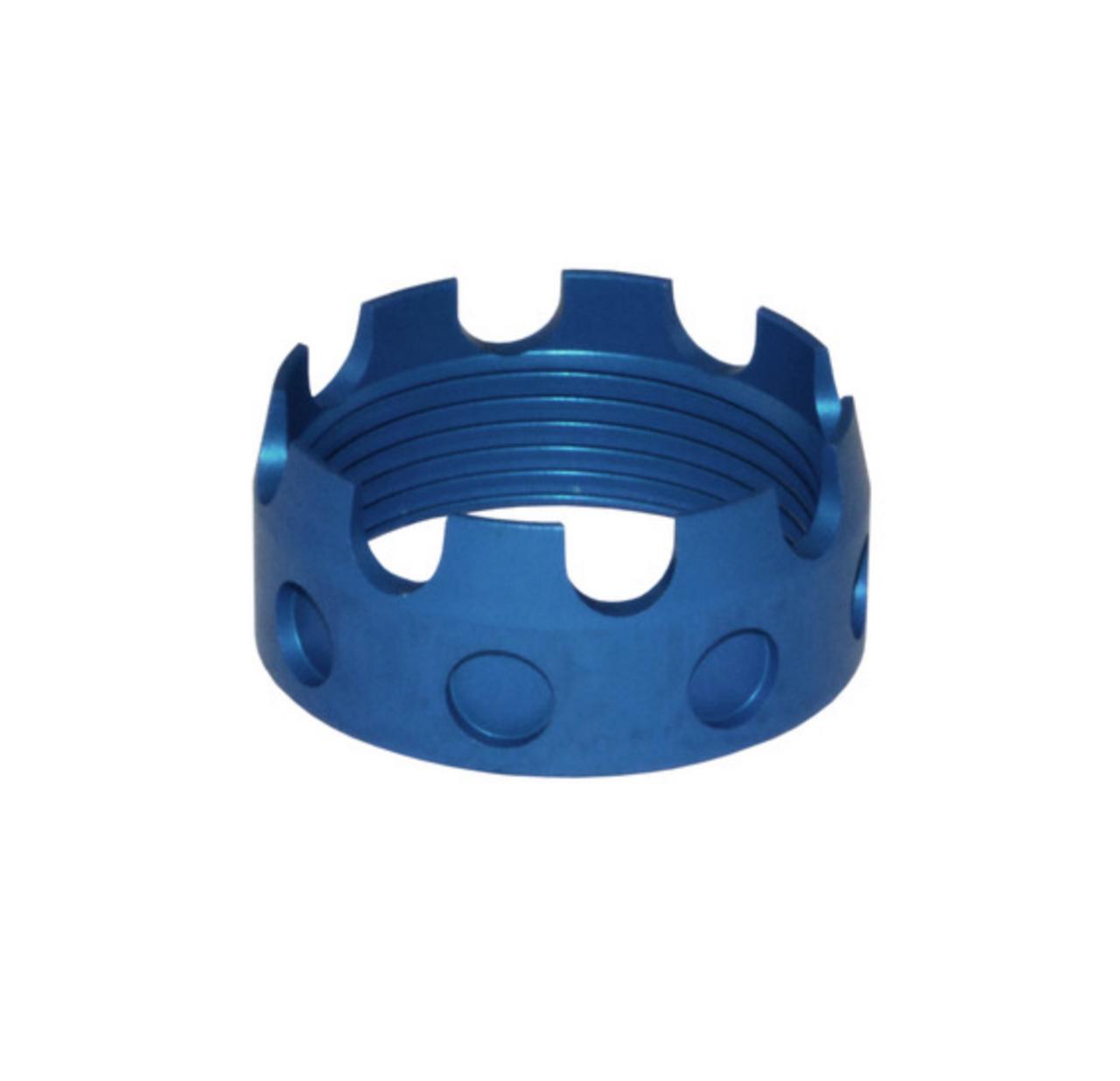 Aluminum Castle Nut for AR .223/5.56/.308 Buffer Tube Receiver End Plates