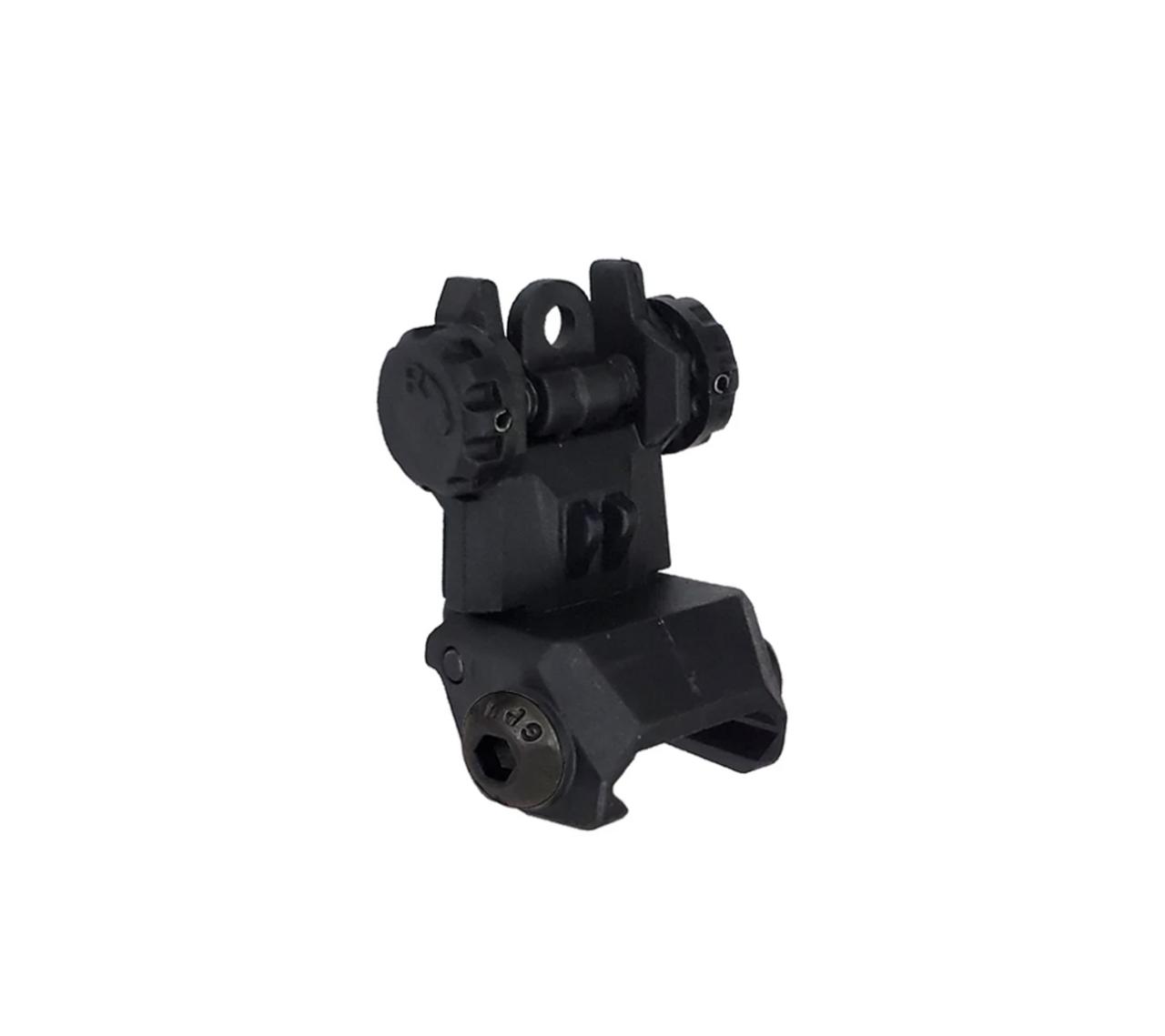 Polymer Rear Flip-up Sight XTS-FRS