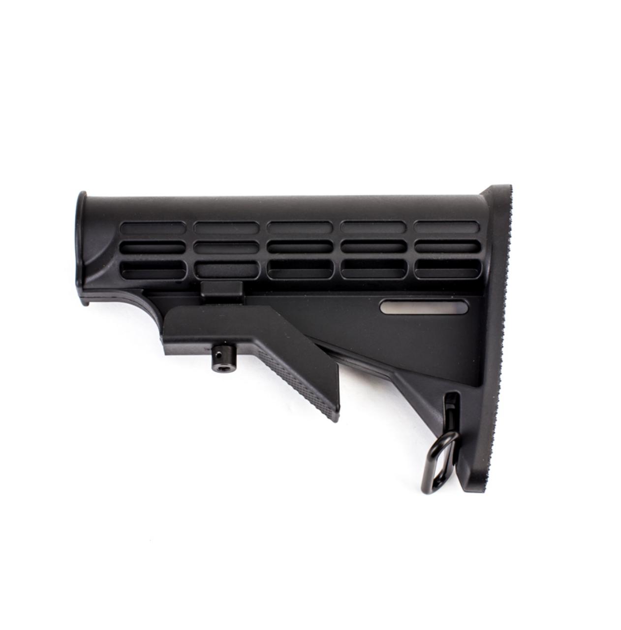 Adjustable Mil Spec Carbine Buttstock USA Made Black
