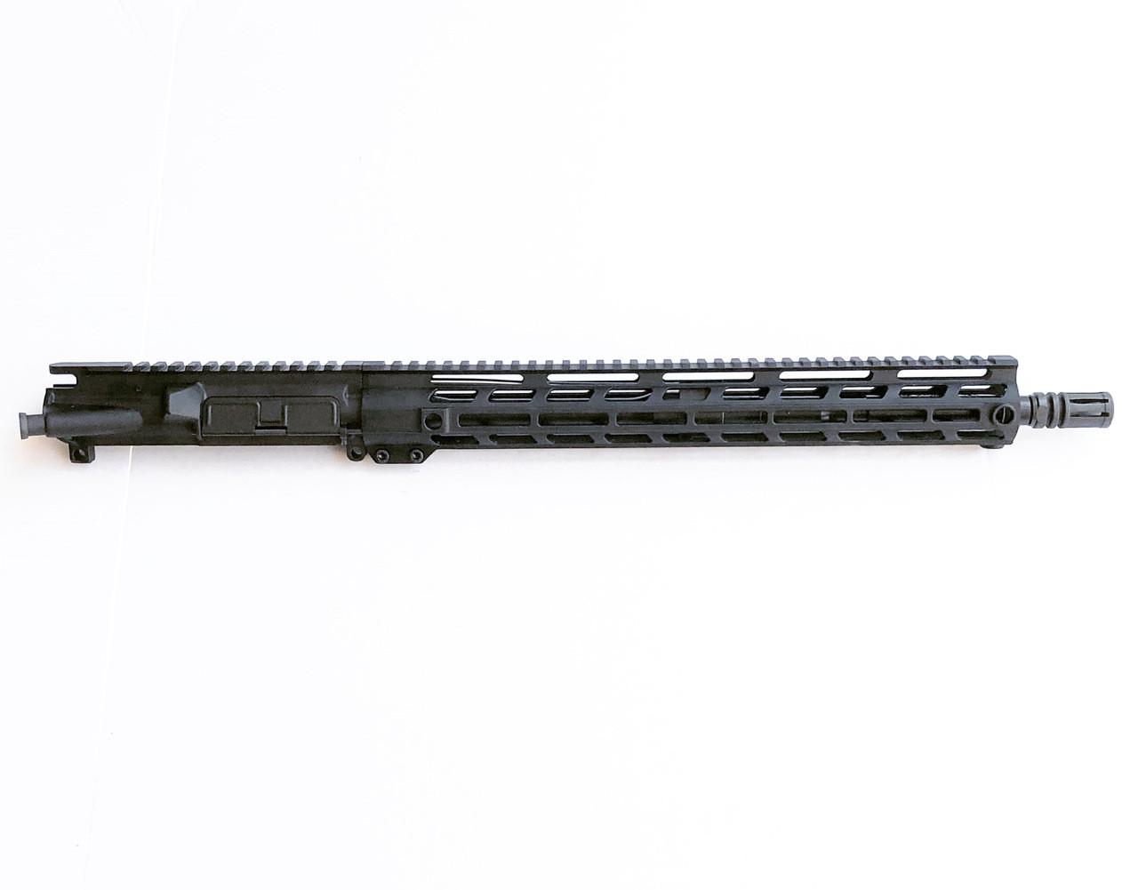 "MCS AR-15 Upper Receiver, .300 Blackout, 16"" Parkerized Heavy Barrel, 1:8 Twist, Pistol Gas System"