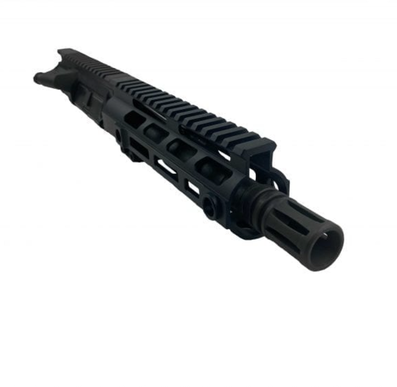 """AR-15 Pistol Upper, 5.56 NATO, 7.5"""" Barrel, 1:7 Twist, Pistol Gas System"""