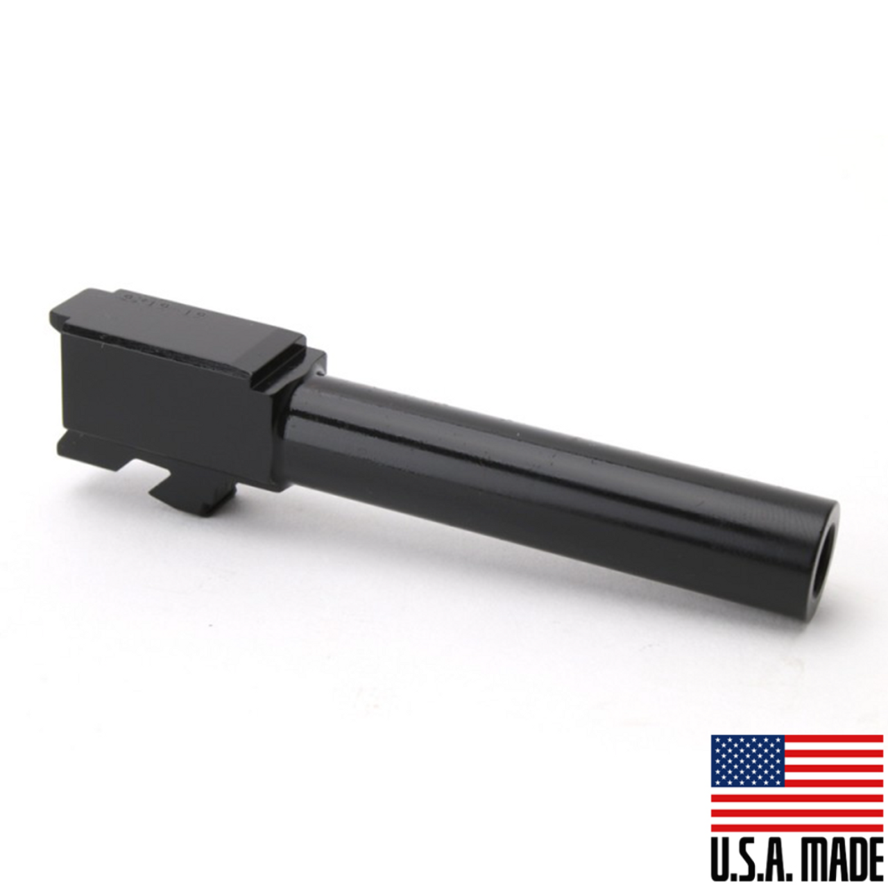 Glock 19 Black - Nitride 9mm Barrel (Made in USA)