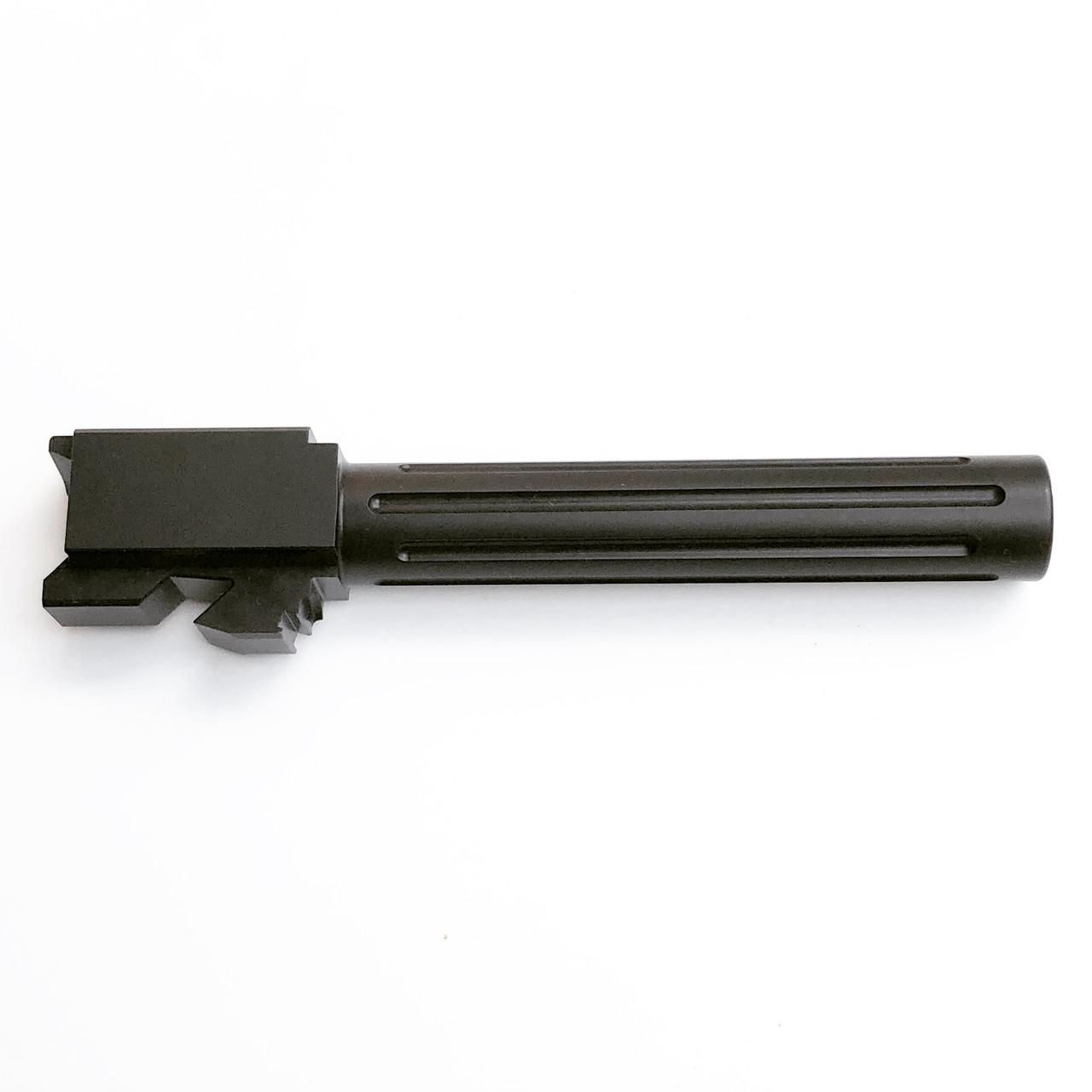 MCS Glock 17 Gen 1-4 N3 Black Nitride fluted barrel