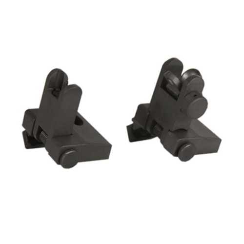MCS USA 45 Degree Offset Flip Up Sights PS-PS9B Made In The USA