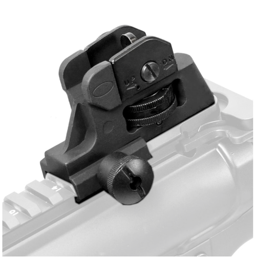A2 Post Fixed Iron Rear Sight