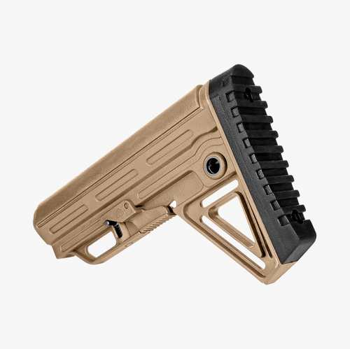 Alpha Mil Spec Collapsible Rifle Butt Stock Tan