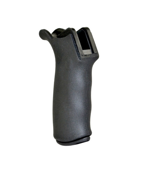 Tactical AR15 Rubberized rear pistol grip with beavertail design