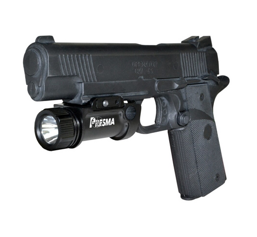 Tactical Light 1000 Lumens Rail-Mounted Rechargeable
