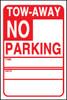 NO PARKING TOW-AWAY W/ CA CVC
